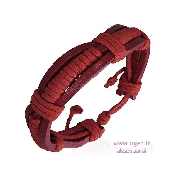 Женский кожаный браслет своими руками